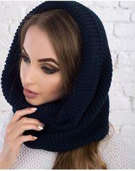 Снуд, шарф, хомут, палантин, шапка, капор
