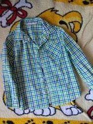 Рубашка хлопковая на возраст 4-5 лет