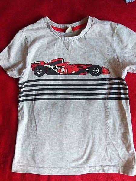 футболка на рост 110-116 см, возраст 5-6 лет