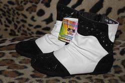 Распродажа Детские демисезонные сапоги ботинки Шалунишка для девочки р31-36
