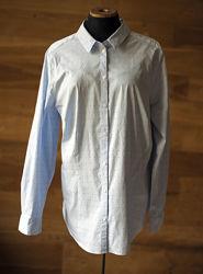 Красивенная голубая рубашка yessica, размер xxl