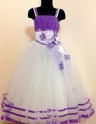 Платье детское Клематис
