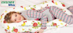 Подушка для беременных Ultra Exclusive, наволочка на выбор в комплекте