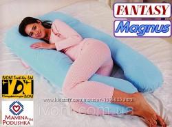Подушка для беременных Fantasy Magnus, Наволочка на выбор в комплекте
