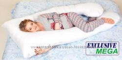 Подушка для беременных MEGA Exclusive, Наволочкана выборвходит в комплект