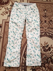 Зимние лыжные водонепроницаемые штаны