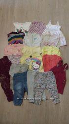 Пакет фирменных вещей для маленькой модницы на 6-18 месяцев.