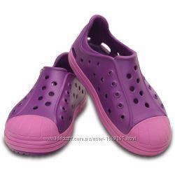 Кеды CROCS Bump It Shoe Amethist, размеры С8, С12, С13