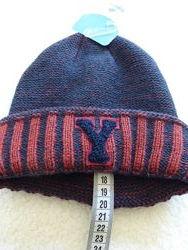 Теплющая зимняя шапка от Topolino 52-54