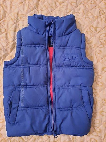 Куртка жилетка жилет теплая Rebel 2-3 года