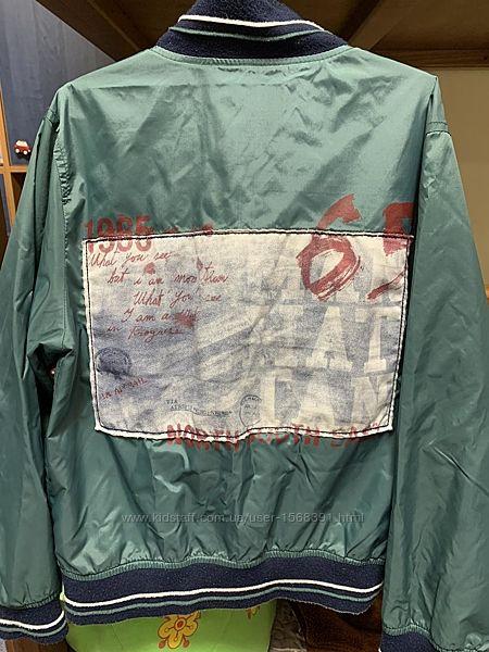 Двухсторонняя курточка-ветровка рост 134-140 см
