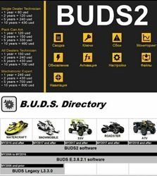 Лицензия BUDS-2 для диагностики BRP техники