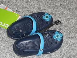 Новые крокс crocs р с-7 стелька 14.14.5см