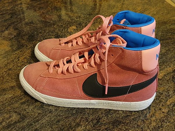 Замшевые ботинки Nike, Оригинал