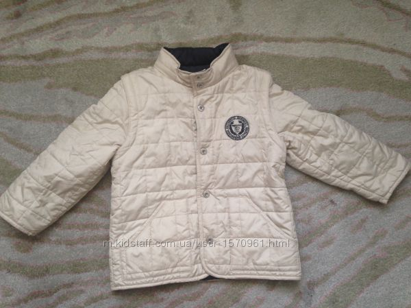 Куртка Chicco, трансформер , 4р, 104см