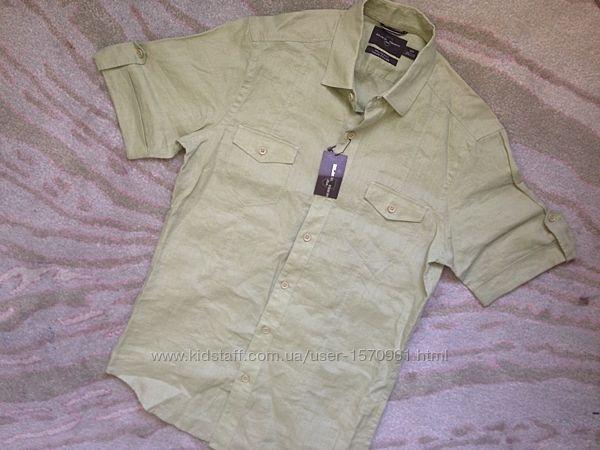 Сорочка, рубашка, льон, США , S