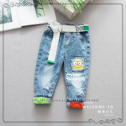Крутые джинсы для маленьких модников
