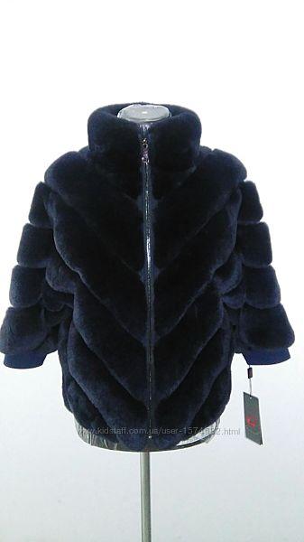 Полушубок, шубка, меховая курточка, автоледи из кролика рекс