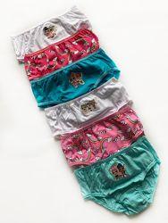 Трусики для девочки набор из 6 шт primark, англия.