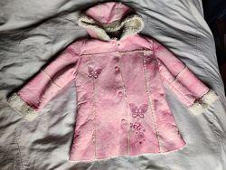 Искусственная дублёнка, демисезонная куртка