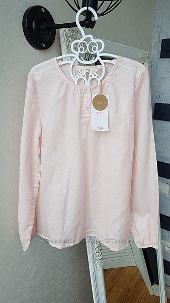 Легкая блуза для девочки 9-10 лет