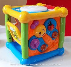 Интерактивная игрушка. Музыкальный куб Умняга
