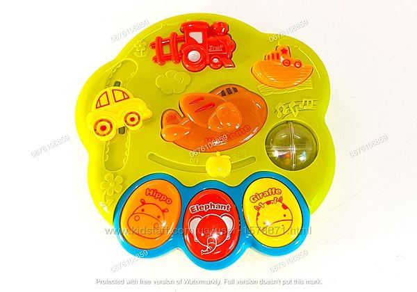 Детское пианино - Chimstar. Мелодии, светится, звуки транспорта и дет смеха