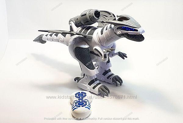 Робот динозавр - интерактивная игрушка на р/у, со свет и звук эффектами