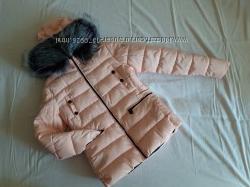 Женская демисезонная куртка нежно-розового цвета, р. S-L 16588А, новая