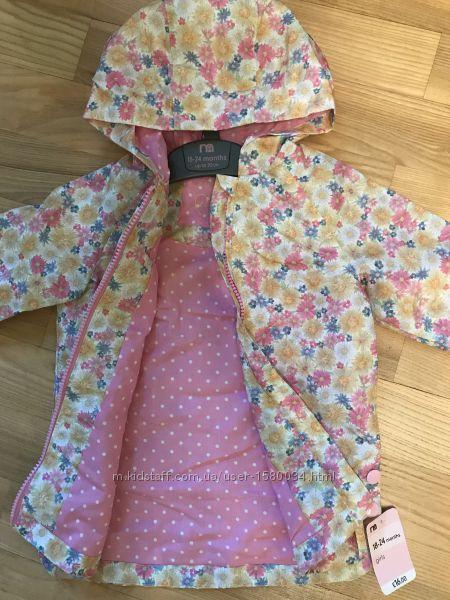 Mothercare плащ ветровка куртка