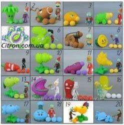 Растения против зомби Около 40 видов наборов Игрушки с игры Plants vs zombi