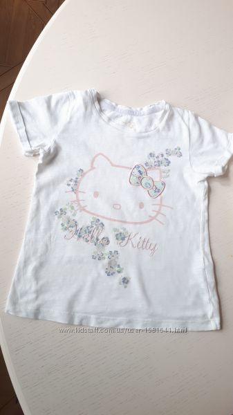Hello Kitty, M&S, футболка, 6-7 лет, 122 см
