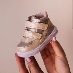 Стильные ботиночки на девочку 21-26 рр.