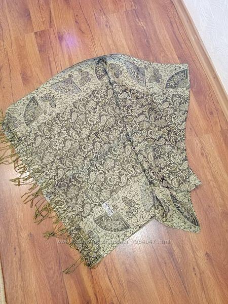 Шарф-шаль с парчи