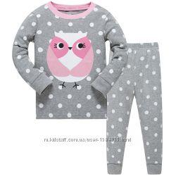 Пижама Сова 2-8 лет