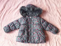 Зимняя куртка Next 1-2 года