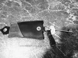 Чехол, ключница для ключей, кожа