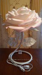 Світильник троянда нічник