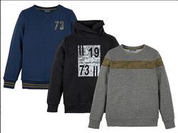 Распродажа Теплый свитшот пуловер пайта худи Pepperts, 122-128
