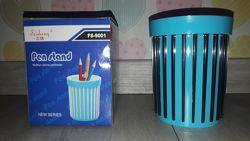 Стакан-подставка 2 в 1 для ручек, карандашей PEN STAND АРТ. FS-9001