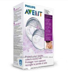 Силиконовые накладки для сбора грудного молока Philips Avent