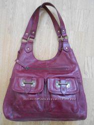 Шикарная кожаная сумка от Marks & Spencer