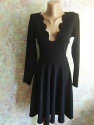 Boohoo платье с длинним рукавом