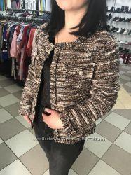 Новый стильный брендовый пиджак жакет 34р