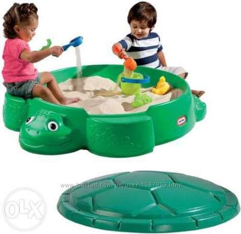 Детская Песочница Черепаха Little Tikes 631566 3в1