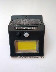LED лампа SH 1605 с солнечной панелью и датчиком движения