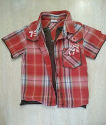 Многослойная рубашка Cherokee на 1.5-2.5 года хлопок в идеале