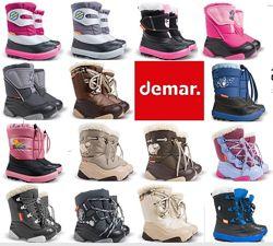 Зимние детские сапоги-дутики Демар Demar. Огромный выбор Оригинал В наличии