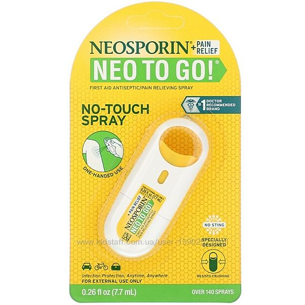 Neosporin Антисептический обезболивающий спрей, 7,7 мл