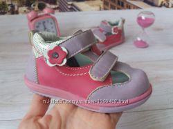 Туфли кожаные для девочки Турция р. 21